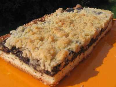 Mohnkuchen Mit Streusel
